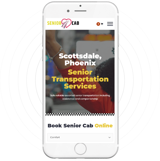 Senior Cab Mobile App
