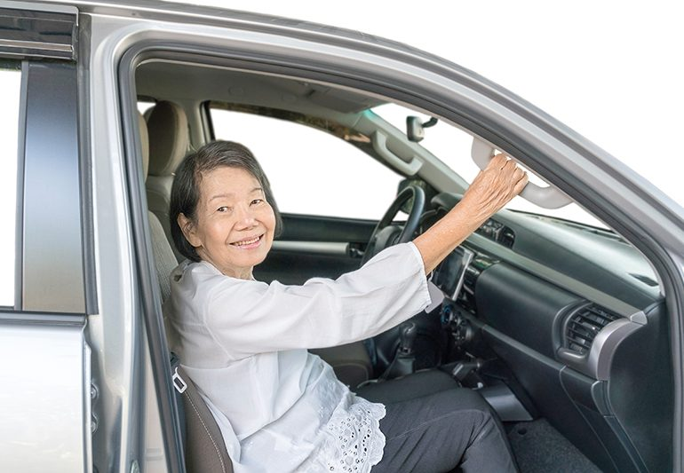 Senior Cab Complete Door thru Door Transportation